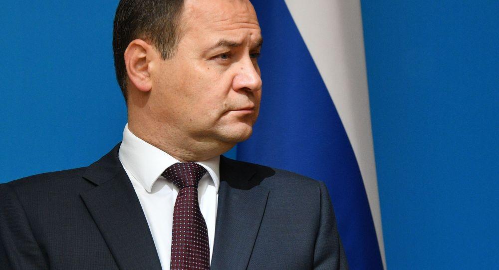 Беларусь премьер-министрі Роман Головченко
