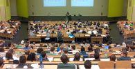 Университет, аудитория, лекция, иллюстративное фото