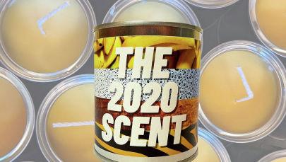 Вещь недели: свеча с ароматом 2020 года от британского бренда Flaming Crap