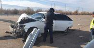Автоугонщик попал в ДТП