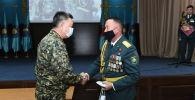 Военнослужащих Нацгвардии наградили медалями министра внутренних дел Таджикистана