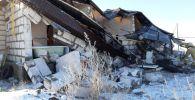 Взрыв газового баллона в Хромтау