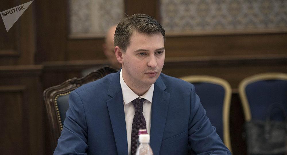 Временный и.о. премьер-министра Кыргызстана Артем Новиков