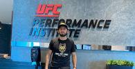 Новый казахстанец в рядах UFC