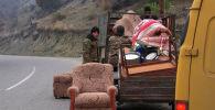 Нагорный Карабах: как Россия помогает беженцам - видео