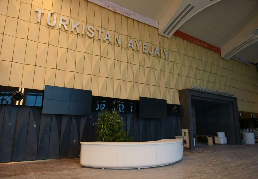 Рекордтық уақытта салынған Түркістан әуежайы