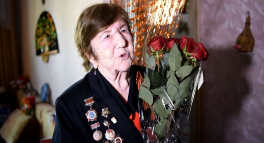 Одна из переводчиц Нюрнбергского процесса Серафима Пономарева из Караганды