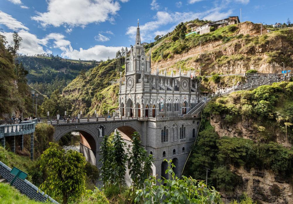 Колумбиядағы Лас-Лахас базиликасы
