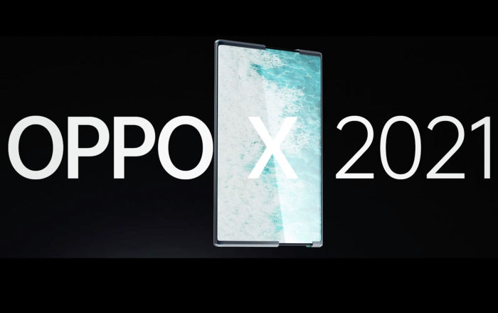 Oppo представила концепт раздвижного смартфона, дисплей которого можно растянуть