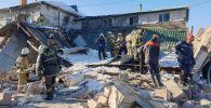 Взрыв и обрушение в столичном кафе