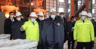 Президент Казахстана посетил ферросплавный завод ТОО YDD CORPORATION