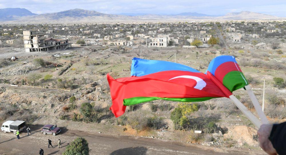 Город Агдам после его возвращения Азербайджану