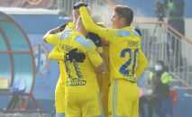 Фрагмент матча Астана - Кайсар, архивное фото