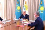 Нұрсұлтан Назарбаев Nur Otan партиясының саяси кеңесін өткізді