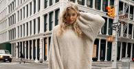 Время тепла: какие свитера носят Ирина Шейк, Наталья Водянова и другие модные девушки