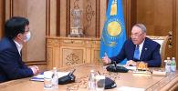 Нұрсұлтан Назарбаев University Medical Center корпоративтік қорының басқарма төрағасы Юрий Пяны қабылдады