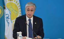 Президент Казахстана Касым-Жомарт Токаев принял участие во внеочередном съезде партии Nur Otan