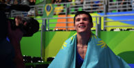 Казахстанский боксер-профессионал Данияр Елеусинов, архивное фото