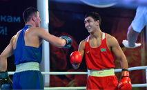 Участники чемпионата Казахстана  по боксу