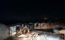 На месторождении  Бектас-Коныс произошел пожар, погибли трое рабочих