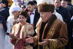 Нурсултан Назарбаев, архивное фото во время празднования Наурыза