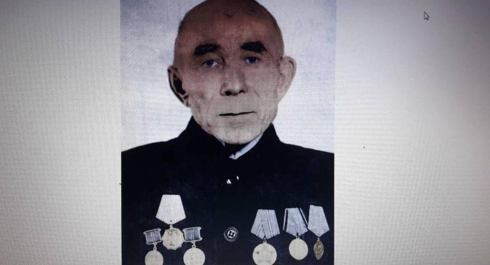 Ветеран Амамбай Алькеев