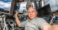 Космонавт Олег Артемьев сделал фото Казахстана с борта МКС. Его инстаграм — это прекрасно