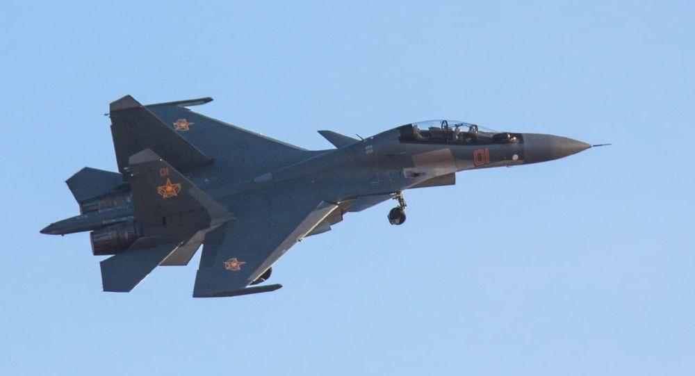 Су-30СМ ұшағы