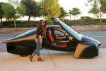 Компания Aptera Motors представила трехколесный электромобиль, оснащенный солнечной батареей