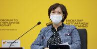 Заместитель руководителя управления общественного здравоохранения по городу Нур-Султан Алия Рустемова