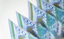 Тенге, деньги, купюры, банкноты