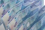 Деньги, тенге, купюры, банкноты