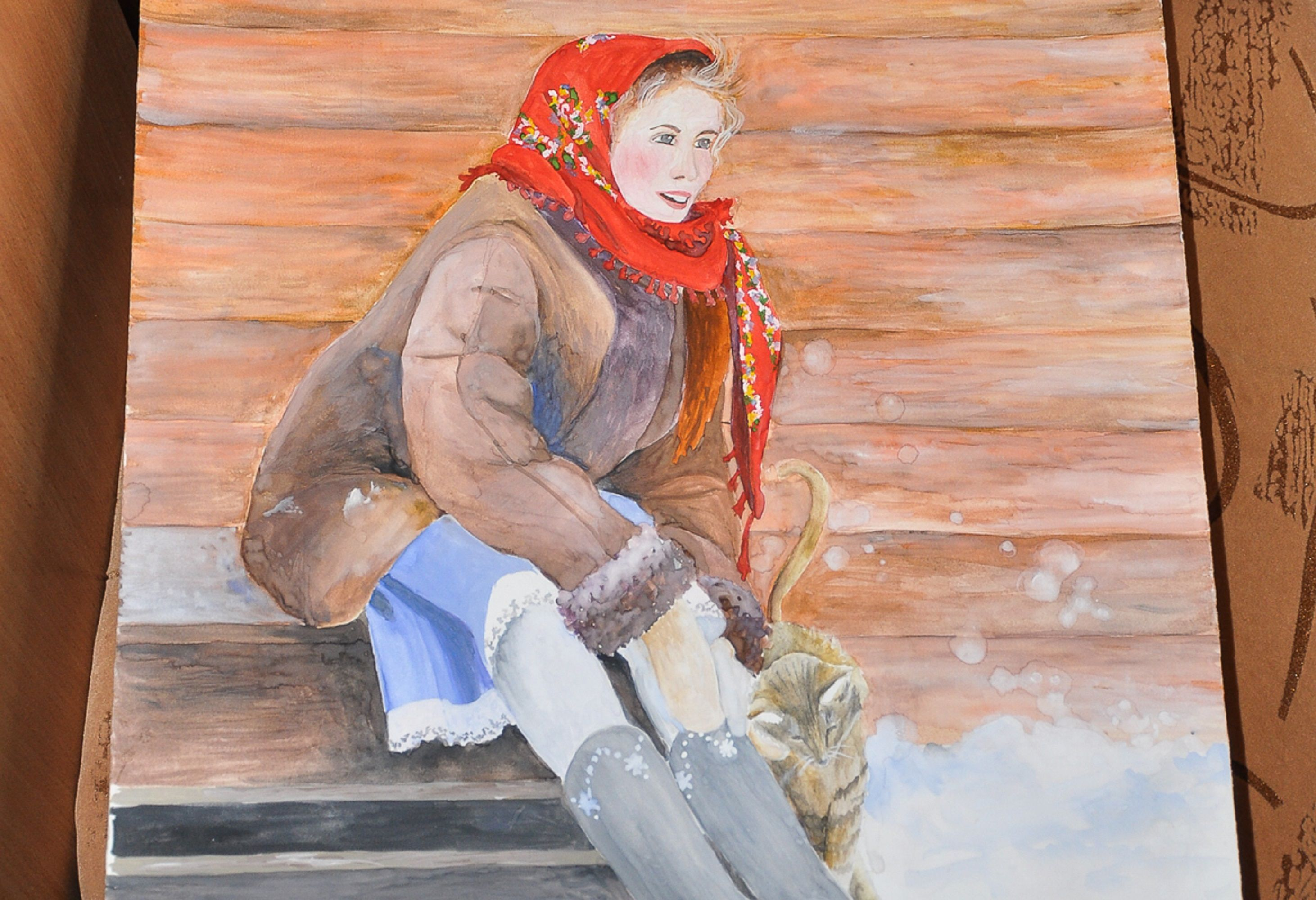 Работы художницы Елены Шаламовой