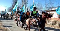 Конный парад в Кызылординской области