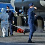 Италиядан келген Ресей әскери аэроғарыш күштерінің әскери-көлік авиациясының 13-ші ұшағы