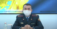 Заместитель начальника управления комитета административной полиции министерства внутренних дел Казахстана Асылбек Идирисов
