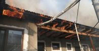 Крыша частного детского сада загорелась в Жаркенте