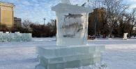Ледовый городок в Петропавловске