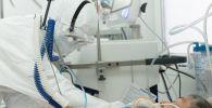 В палате больницы с коронавирусом