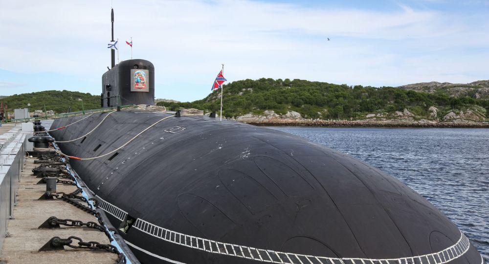 Подводный крейсер стратегического назначения Князь Владимир