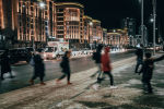 Новогоднее оформление города Нур-Султан