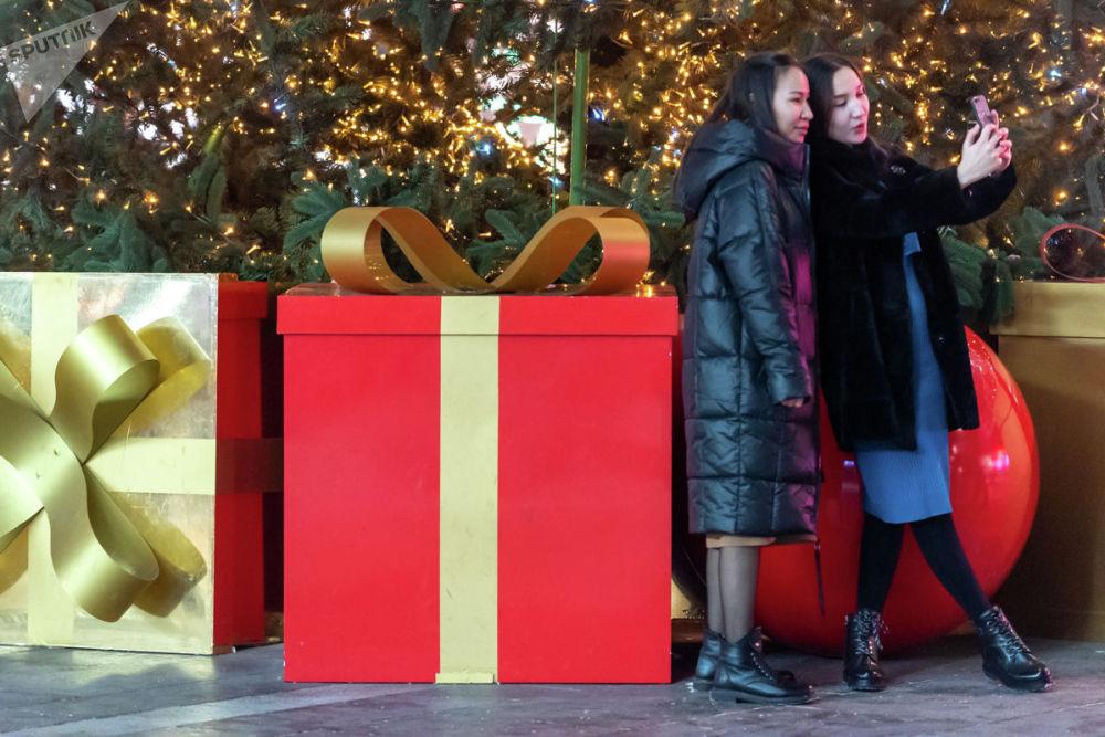Новогоднее оформление Алматы