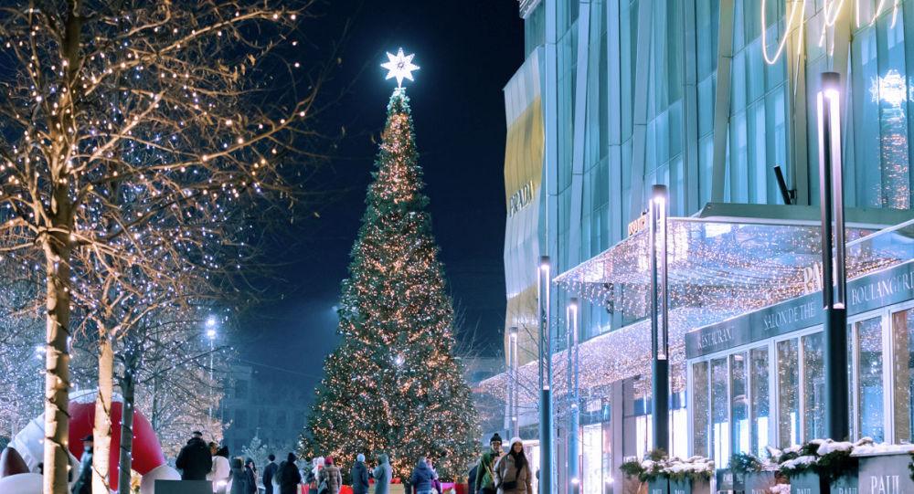 Жаңа жыл, Алматы