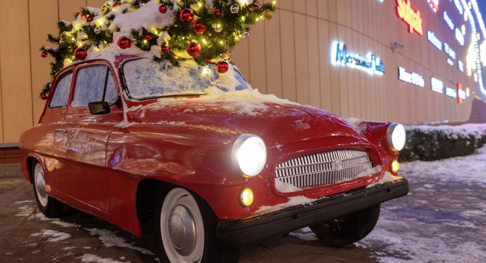 Новый год, Алматы