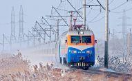 Поезд зимой