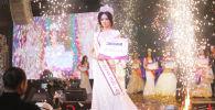 Лаззат Нуркожоева победила на конкурсе Мисс Кыргызстан