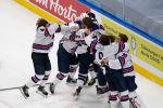 Молодежная сборная США - чемпион мира по хоккею 2021 года