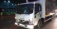 Грузовик Исудзу насмерть сбил мужчину на Ташкентском тракте
