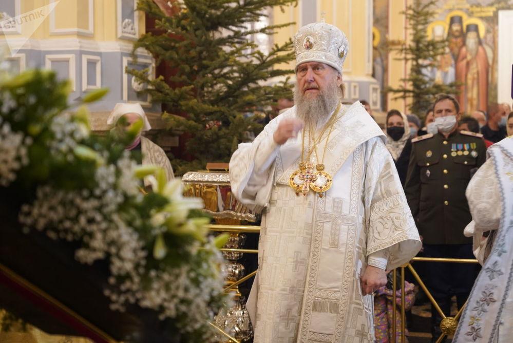 Қазақстан православие шіркеуінің басшысы, митрополит Александр