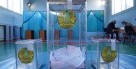 Урны для голосования на избирательном участке